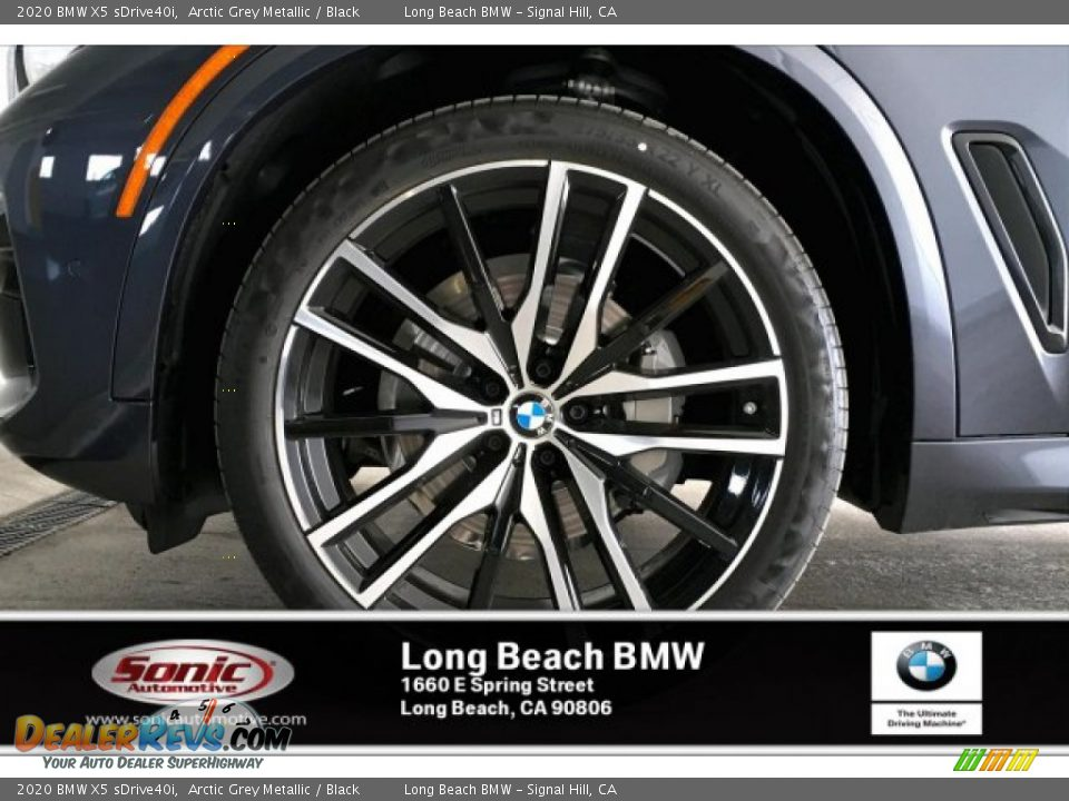 2020 BMW X5 sDrive40i Arctic Grey Metallic / Black Photo #9