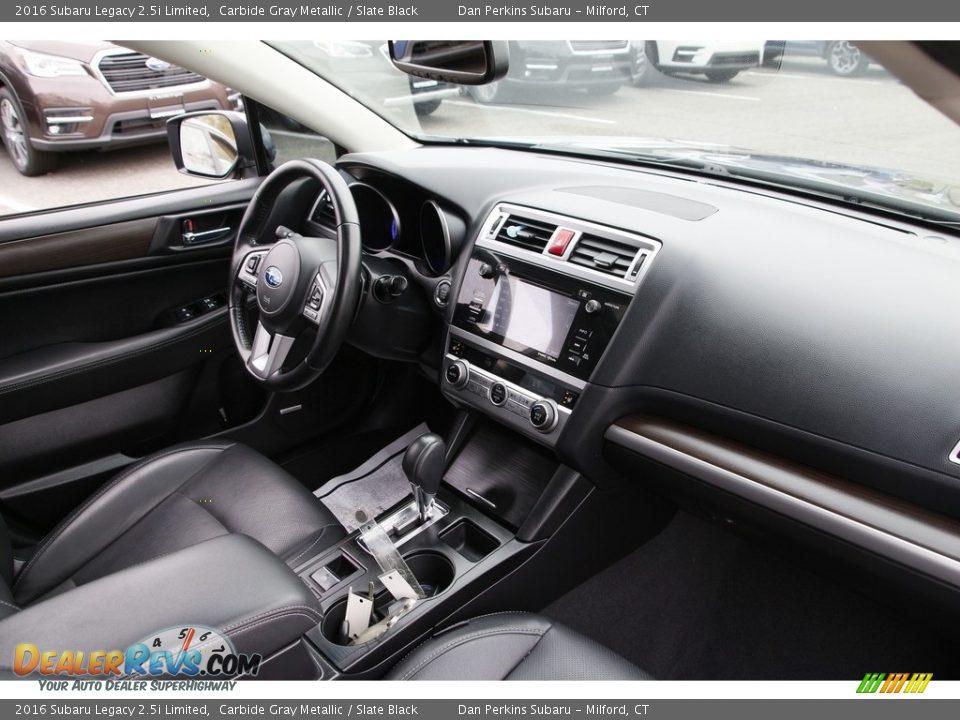 2016 Subaru Legacy 2.5i Limited Carbide Gray Metallic / Slate Black Photo #16