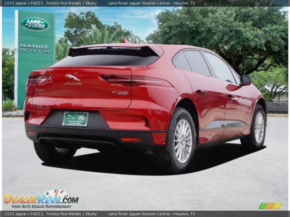 2020 Jaguar I-PACE S Firenze Red Metallic / Ebony Photo #4