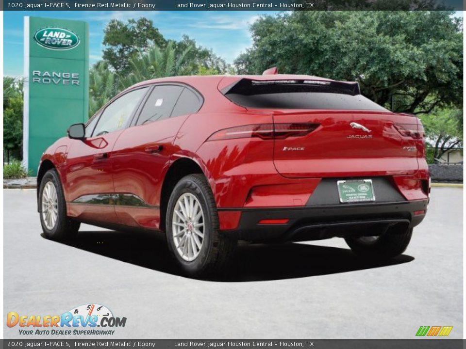 2020 Jaguar I-PACE S Firenze Red Metallic / Ebony Photo #5