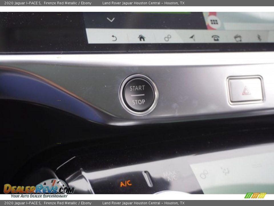 2020 Jaguar I-PACE S Firenze Red Metallic / Ebony Photo #19