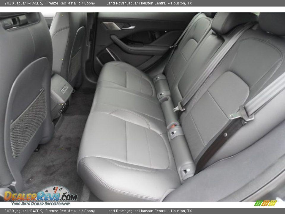 Rear Seat of 2020 Jaguar I-PACE S Photo #29