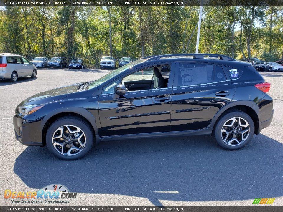 2019 Subaru Crosstrek 2.0i Limited Crystal Black Silica / Black Photo #3
