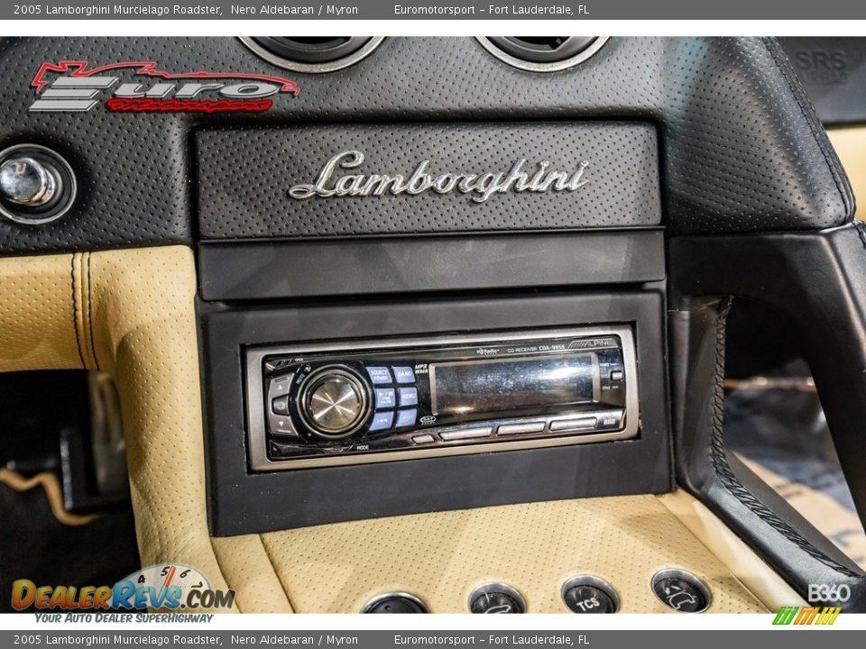 2005 Lamborghini Murcielago Roadster Nero Aldebaran / Myron Photo #21