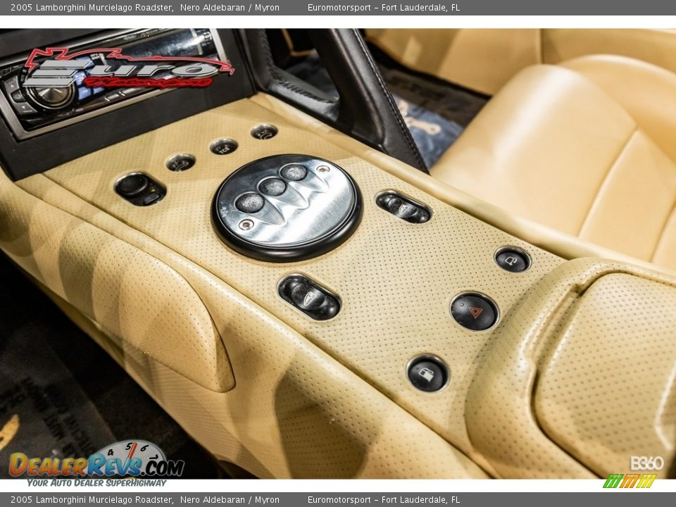 2005 Lamborghini Murcielago Roadster Nero Aldebaran / Myron Photo #22