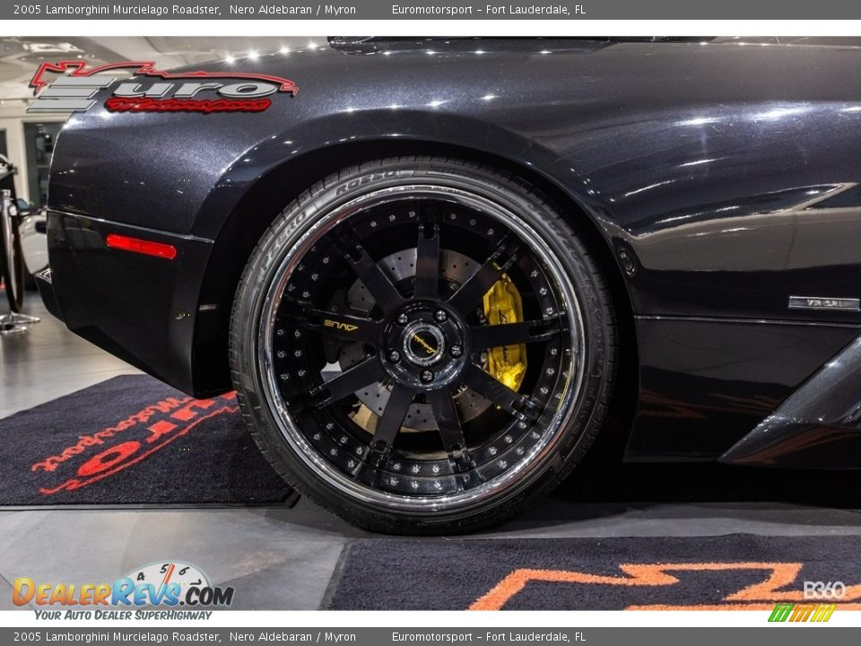 2005 Lamborghini Murcielago Roadster Nero Aldebaran / Myron Photo #34