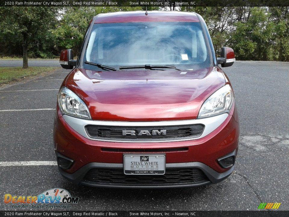 2020 Ram ProMaster City Wagon SLT Deep Red Metallic / Black Photo #3