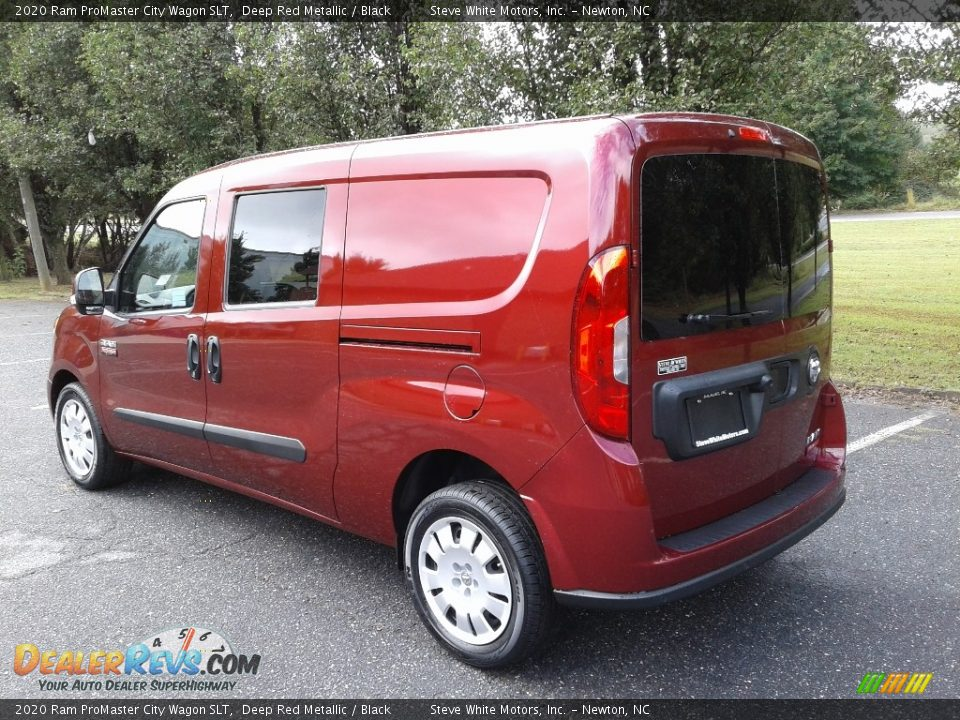 2020 Ram ProMaster City Wagon SLT Deep Red Metallic / Black Photo #8