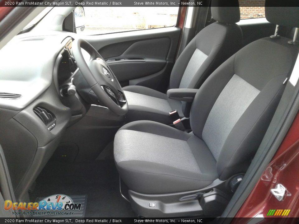 Black Interior - 2020 Ram ProMaster City Wagon SLT Photo #10