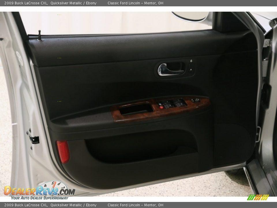 2009 Buick LaCrosse CXL Quicksilver Metallic / Ebony Photo #4