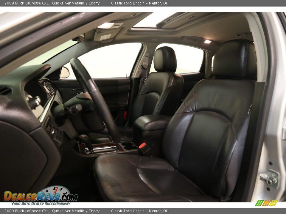 2009 Buick LaCrosse CXL Quicksilver Metallic / Ebony Photo #5