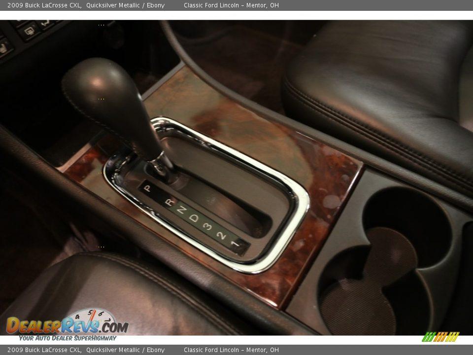 2009 Buick LaCrosse CXL Quicksilver Metallic / Ebony Photo #11