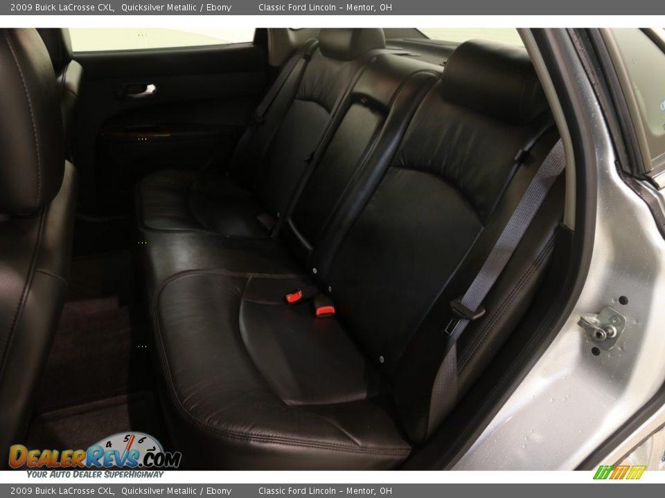 2009 Buick LaCrosse CXL Quicksilver Metallic / Ebony Photo #14