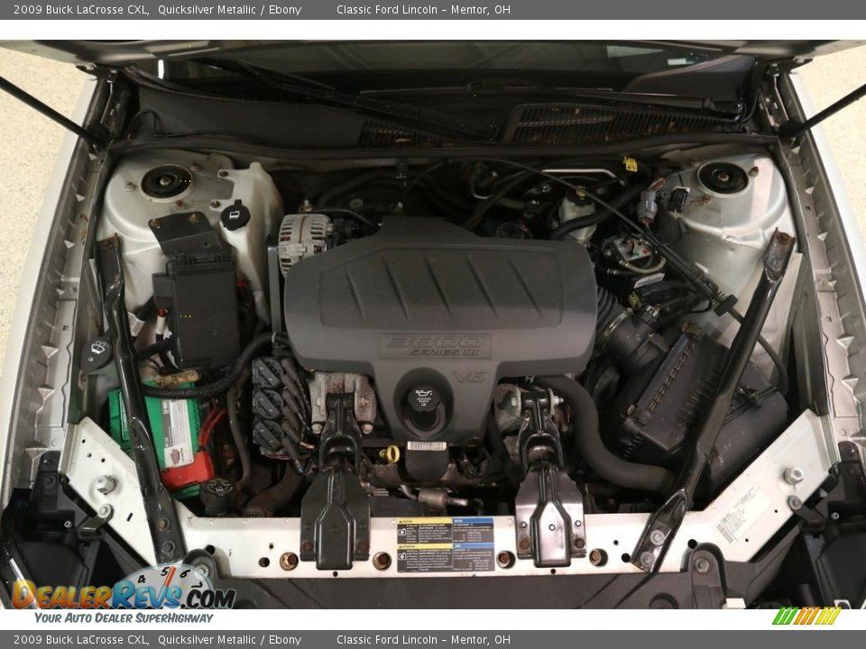 2009 Buick LaCrosse CXL Quicksilver Metallic / Ebony Photo #16