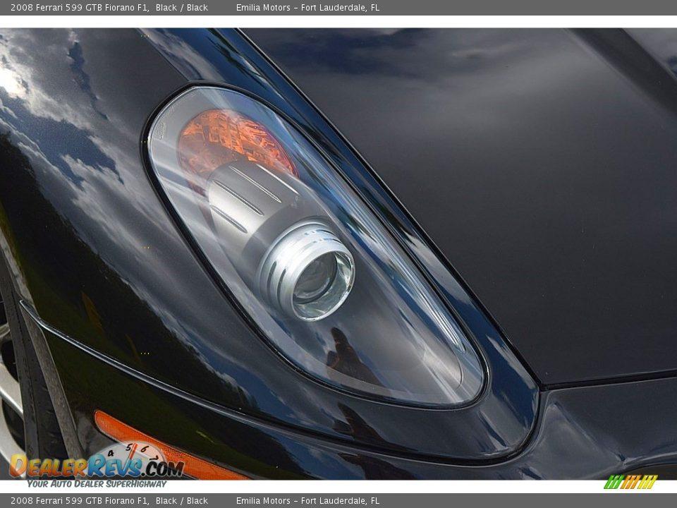 2008 Ferrari 599 GTB Fiorano F1 Black / Black Photo #18
