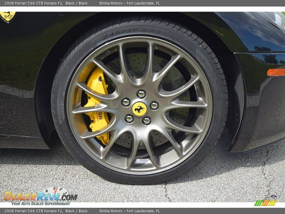 2008 Ferrari 599 GTB Fiorano F1 Wheel Photo #19