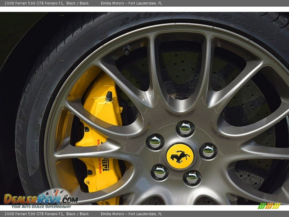 2008 Ferrari 599 GTB Fiorano F1 Wheel Photo #20