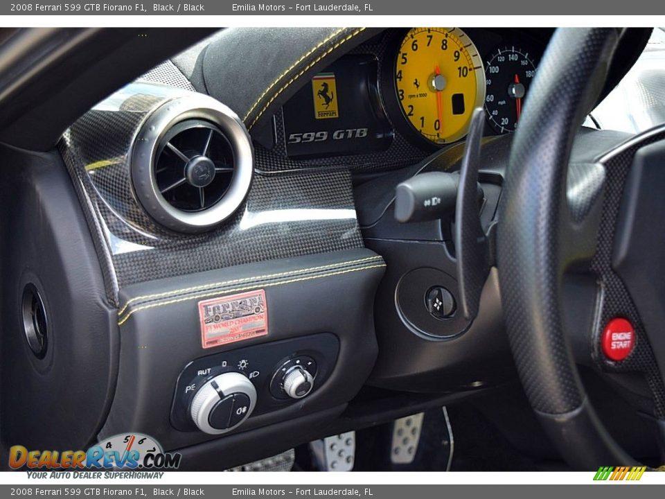 Controls of 2008 Ferrari 599 GTB Fiorano F1 Photo #30