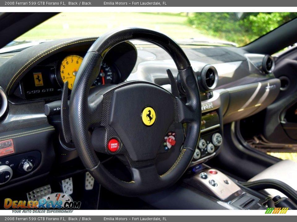 2008 Ferrari 599 GTB Fiorano F1 Steering Wheel Photo #31
