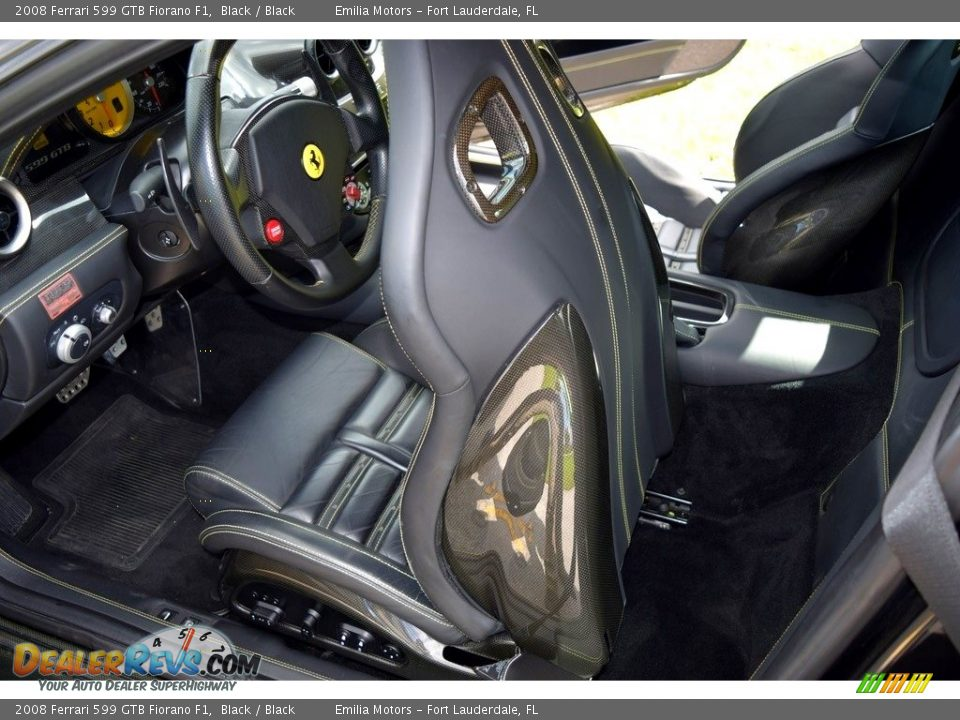 Front Seat of 2008 Ferrari 599 GTB Fiorano F1 Photo #32