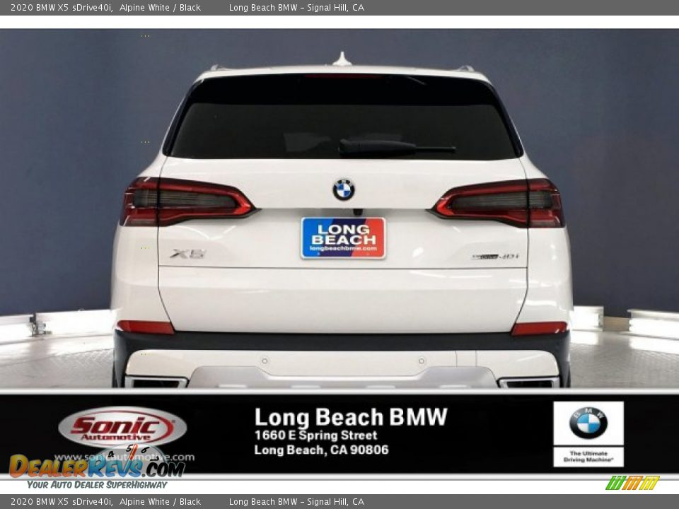 2020 BMW X5 sDrive40i Alpine White / Black Photo #3