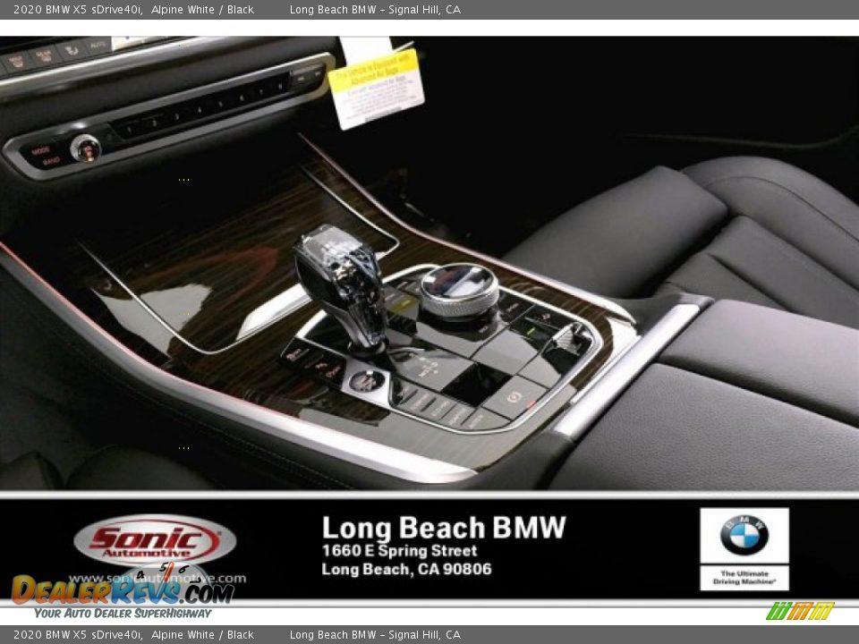 2020 BMW X5 sDrive40i Alpine White / Black Photo #6