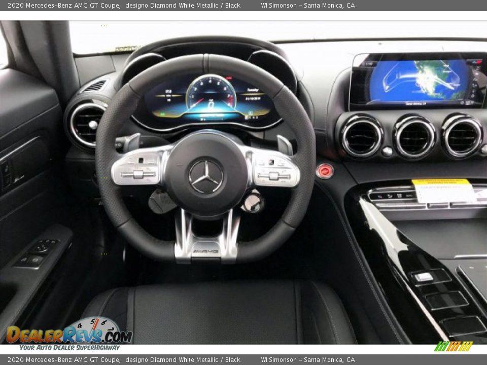 2020 Mercedes-Benz AMG GT Coupe designo Diamond White Metallic / Black Photo #4