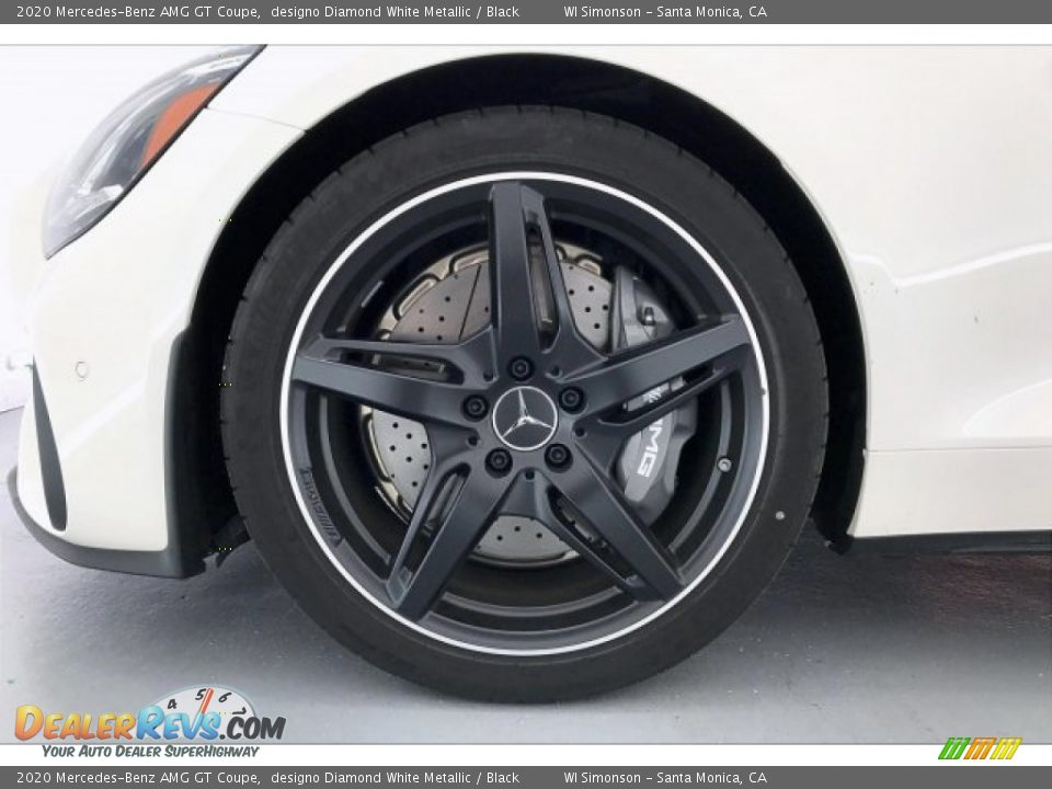 2020 Mercedes-Benz AMG GT Coupe Wheel Photo #8