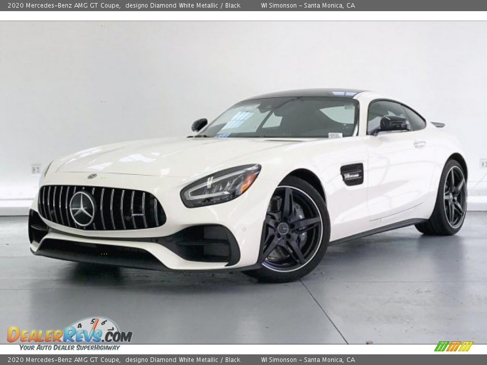 Front 3/4 View of 2020 Mercedes-Benz AMG GT Coupe Photo #12