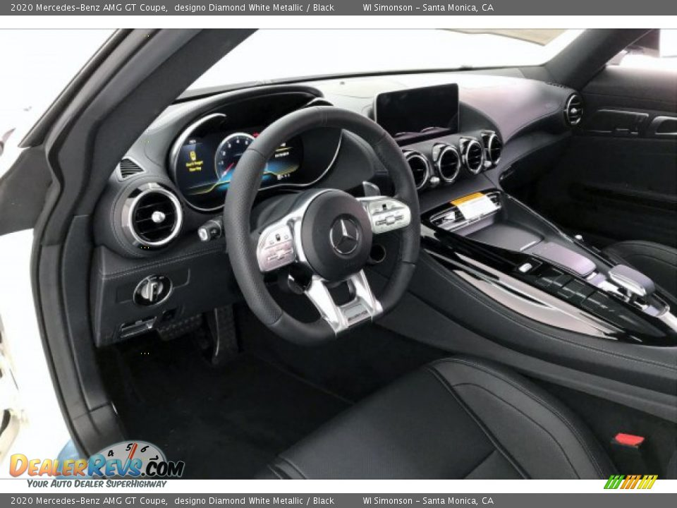 Front Seat of 2020 Mercedes-Benz AMG GT Coupe Photo #20