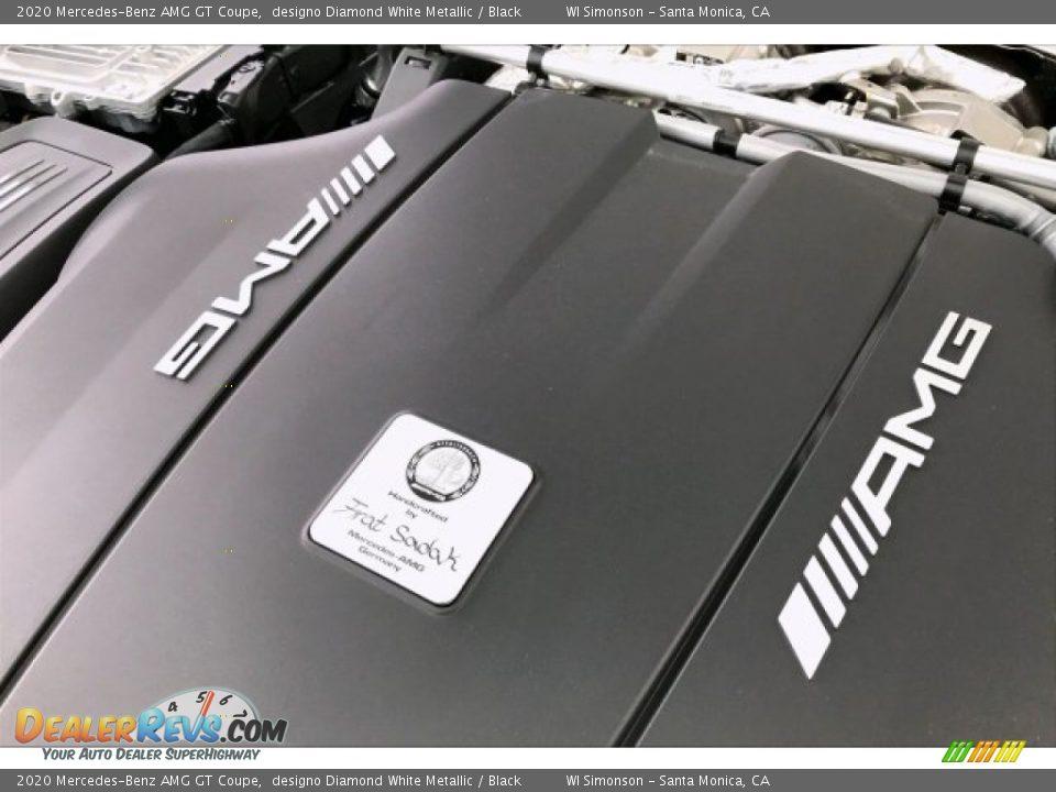 2020 Mercedes-Benz AMG GT Coupe designo Diamond White Metallic / Black Photo #29