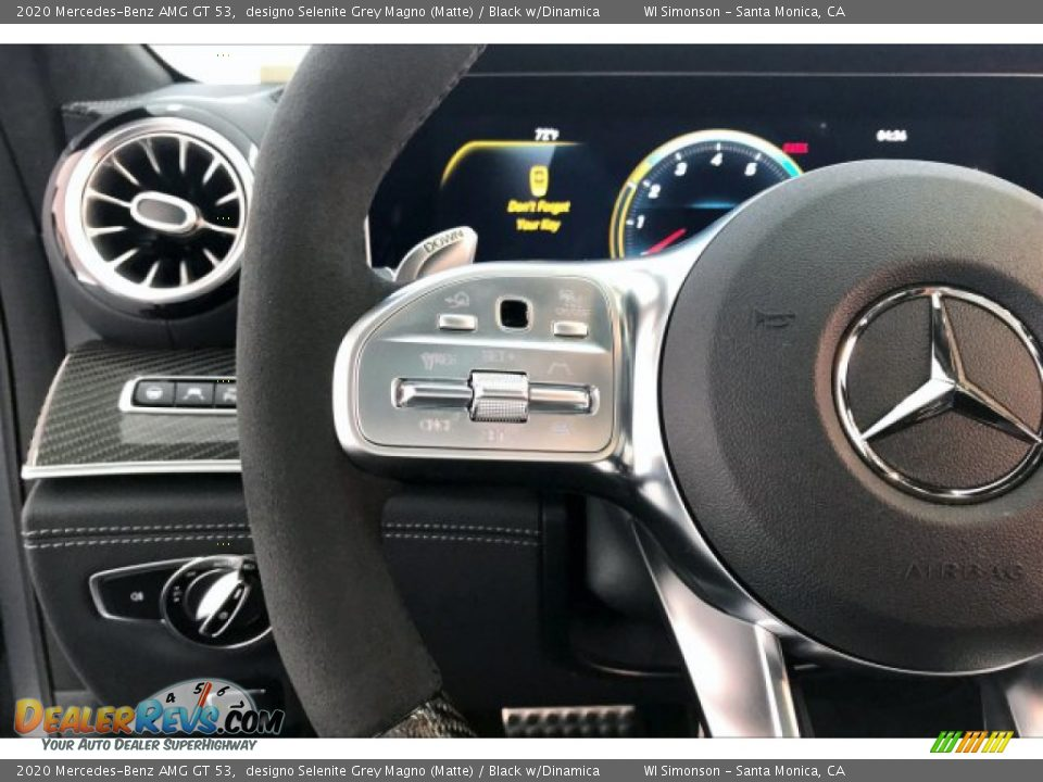 2020 Mercedes-Benz AMG GT 53 Steering Wheel Photo #18
