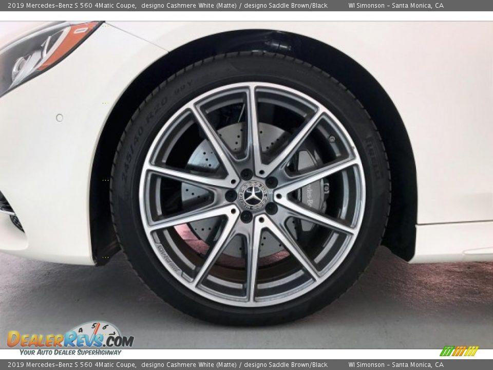 2019 Mercedes-Benz S 560 4Matic Coupe Wheel Photo #8