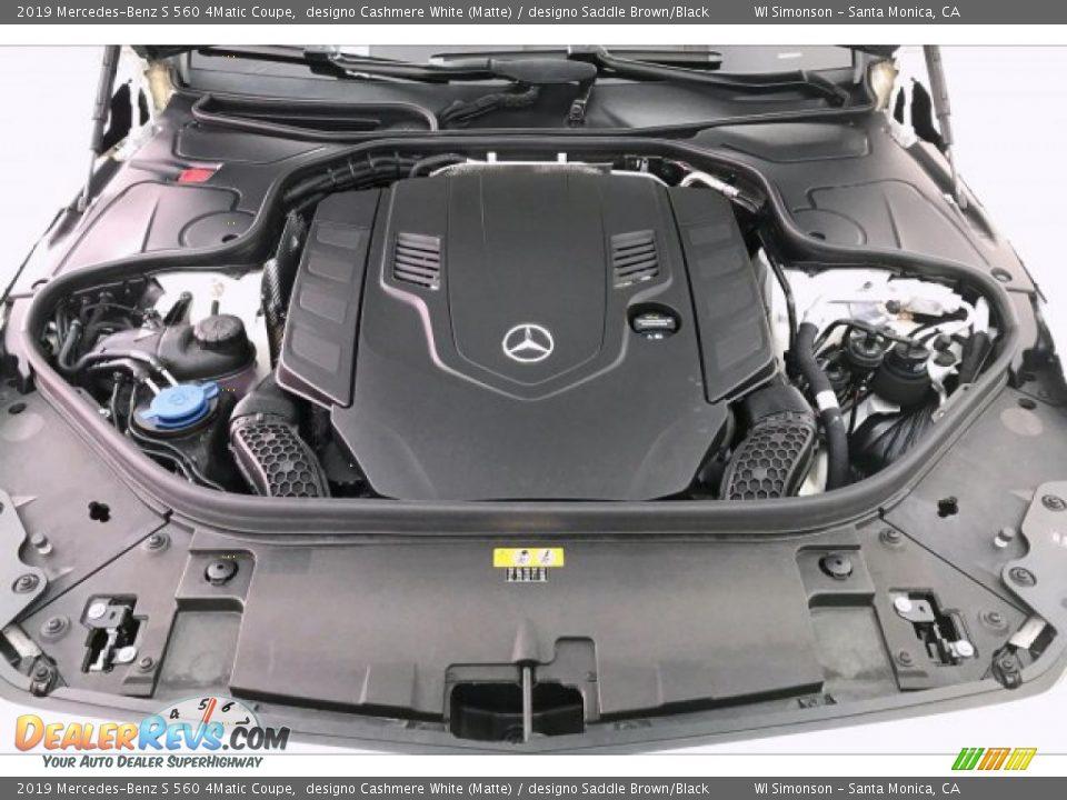 2019 Mercedes-Benz S 560 4Matic Coupe 4.0 Liter biturbo DOHC 32-Valve VVT V8 Engine Photo #9