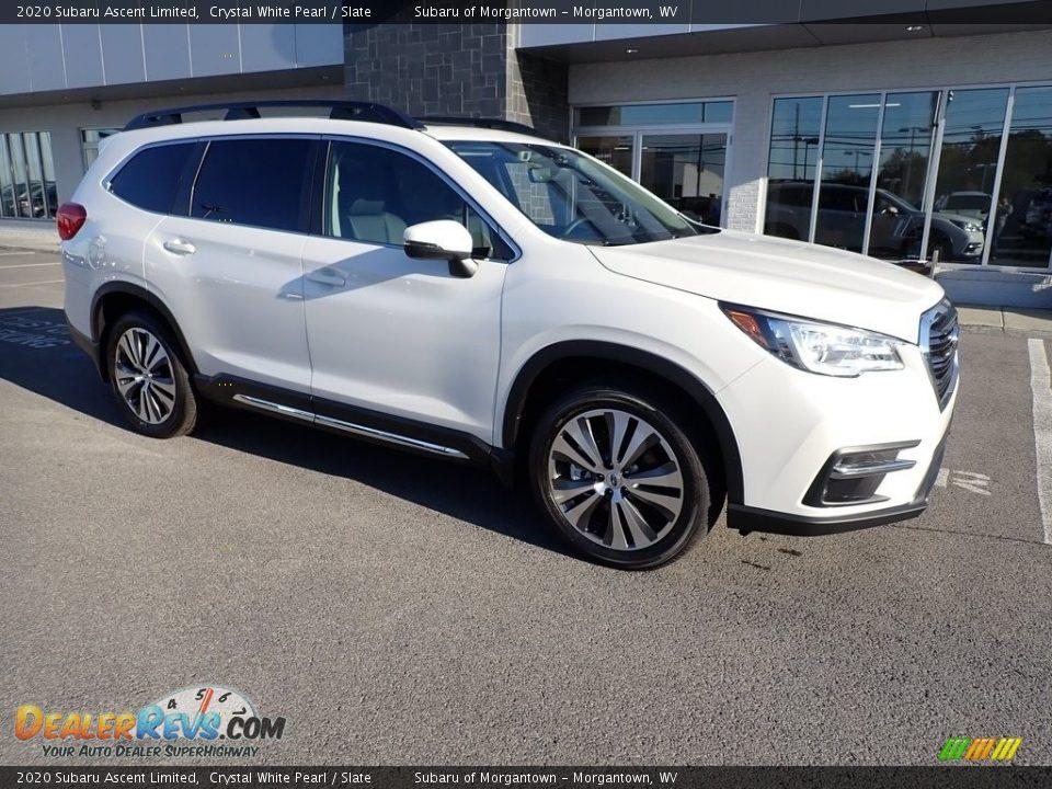 2020 Subaru Ascent Limited Crystal White Pearl / Slate Photo #1