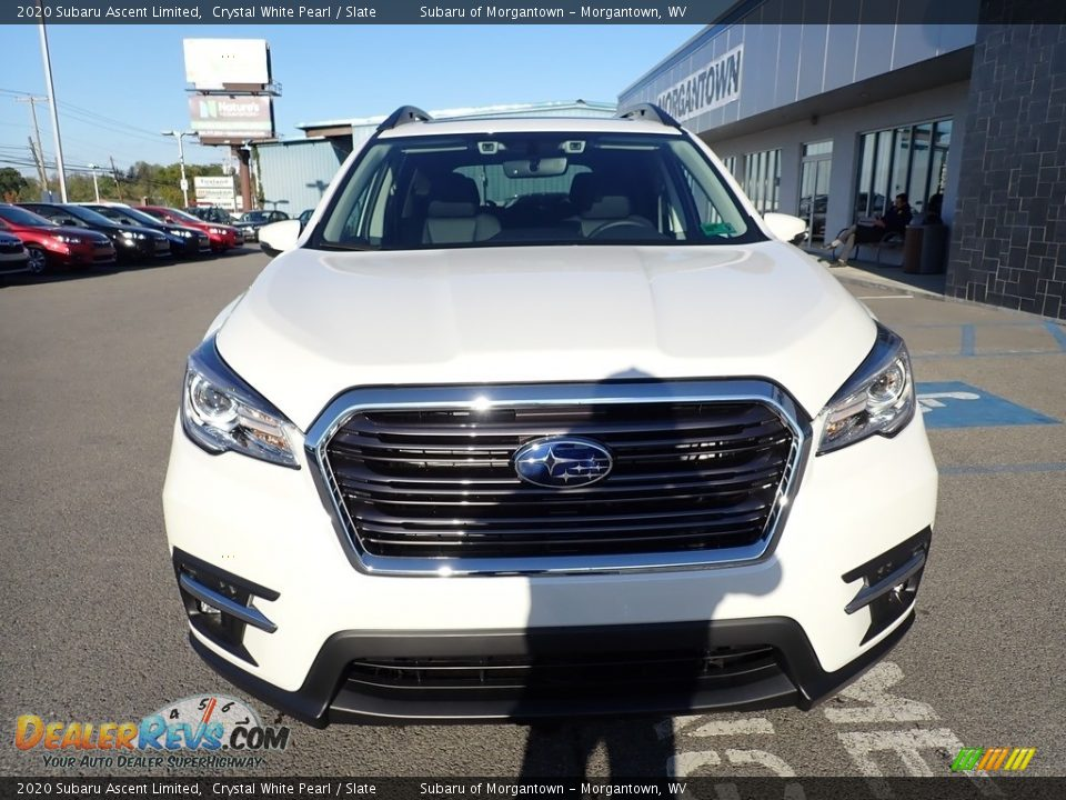 2020 Subaru Ascent Limited Crystal White Pearl / Slate Photo #9
