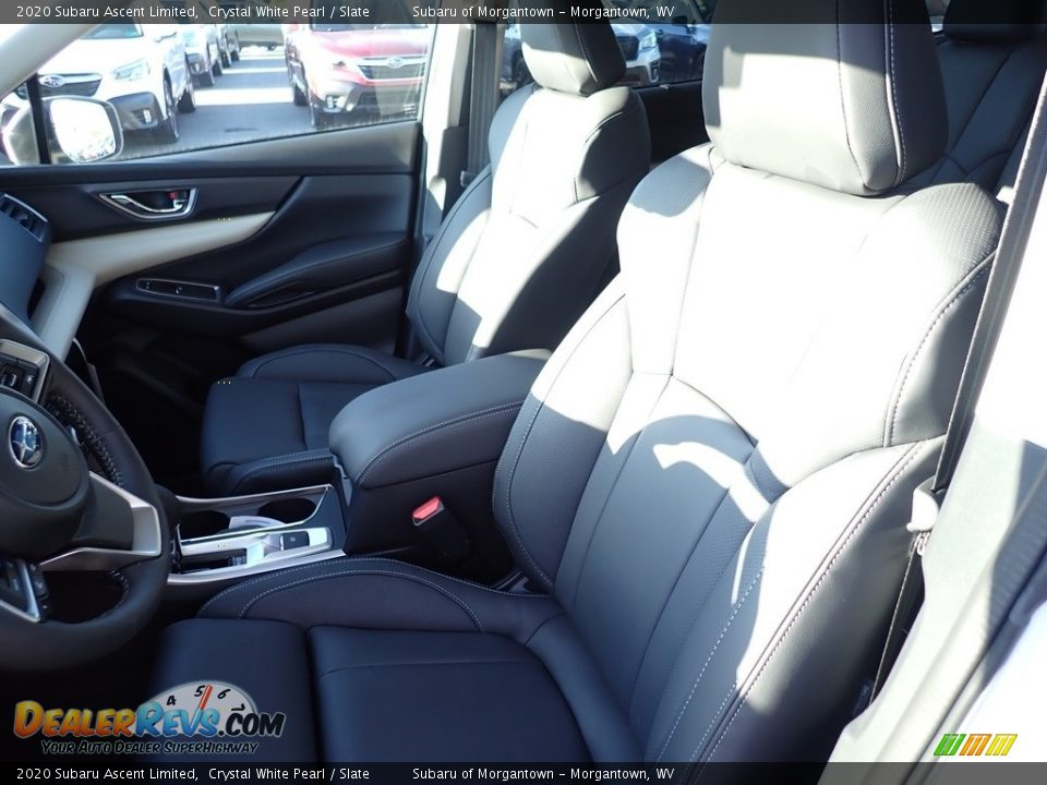 2020 Subaru Ascent Limited Crystal White Pearl / Slate Photo #14
