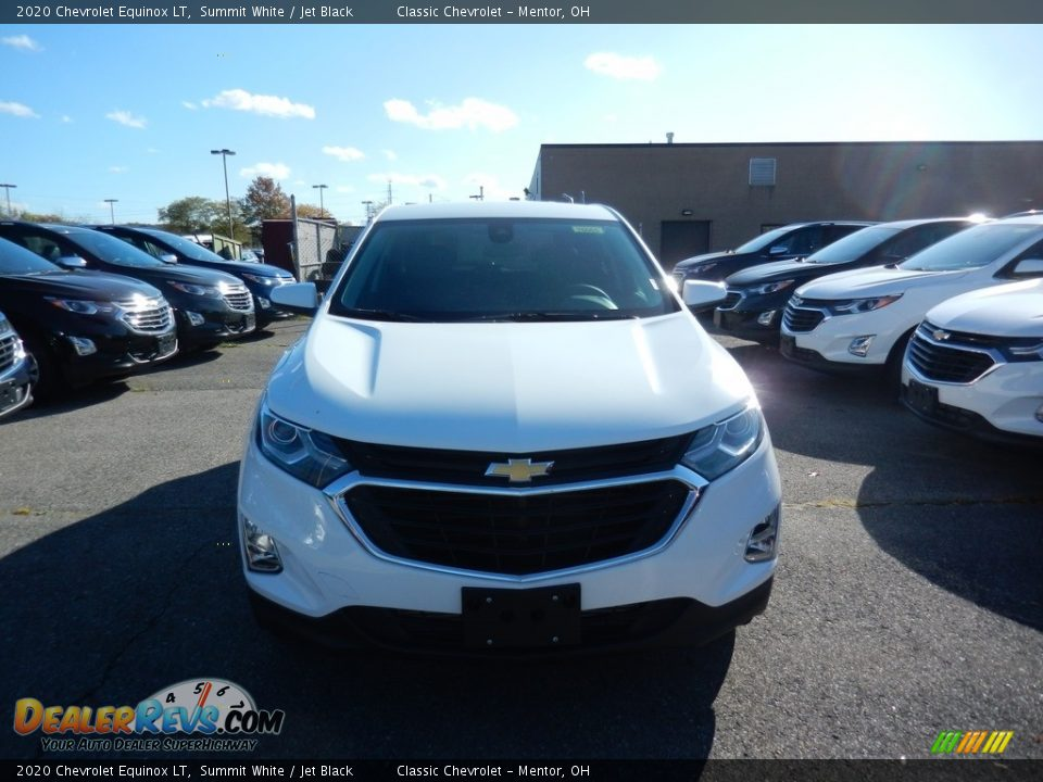 2020 Chevrolet Equinox LT Summit White / Jet Black Photo #2