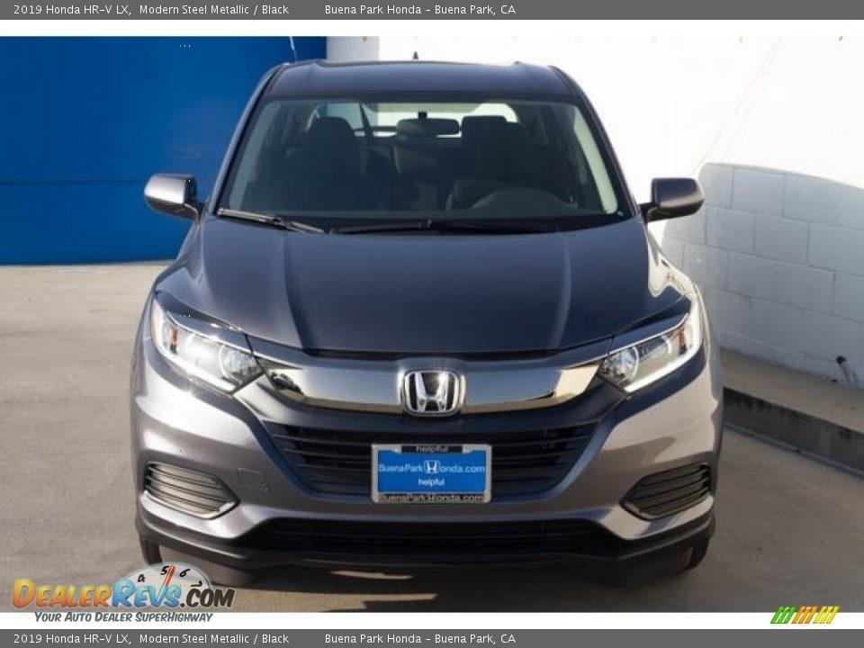 2019 Honda HR-V LX Modern Steel Metallic / Black Photo #3