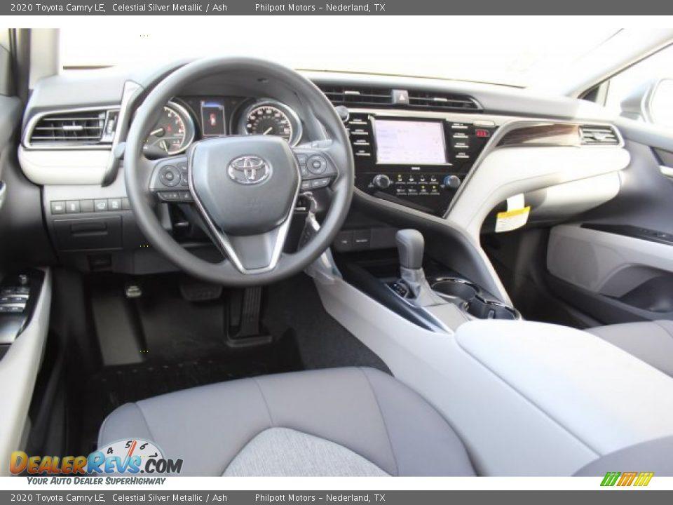 2020 Toyota Camry LE Celestial Silver Metallic / Ash Photo #21