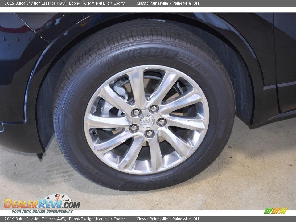 2019 Buick Envision Essence AWD Ebony Twilight Metallic / Ebony Photo #5