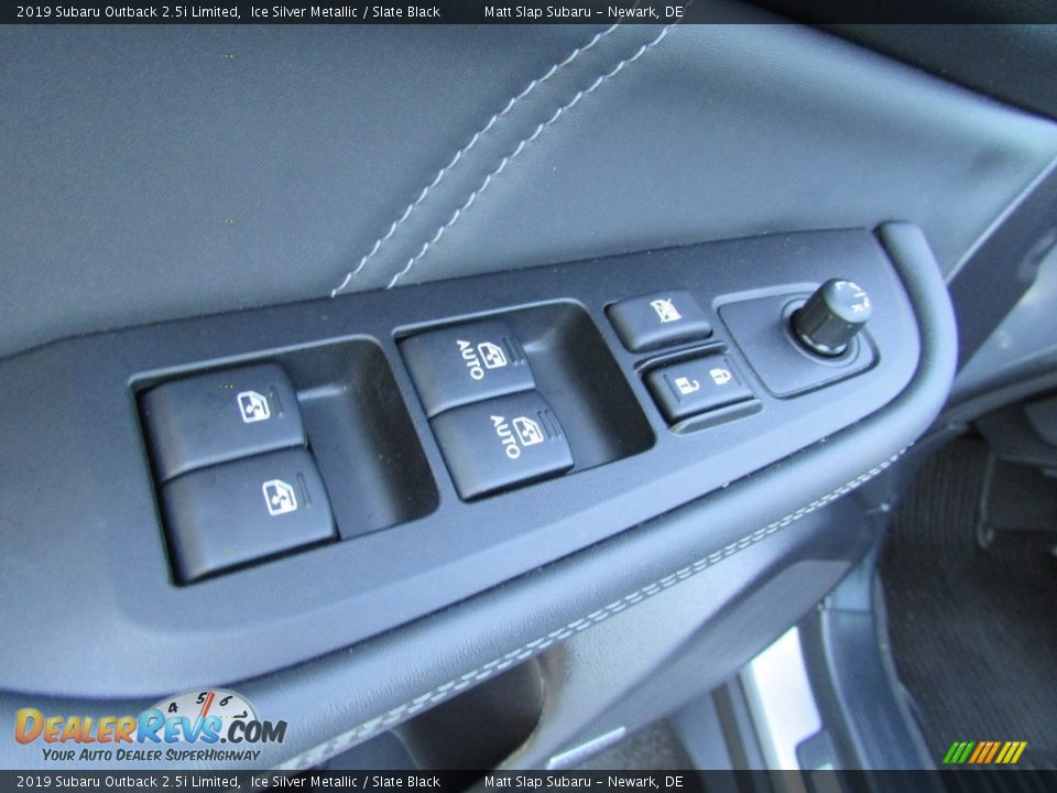 2019 Subaru Outback 2.5i Limited Ice Silver Metallic / Slate Black Photo #15