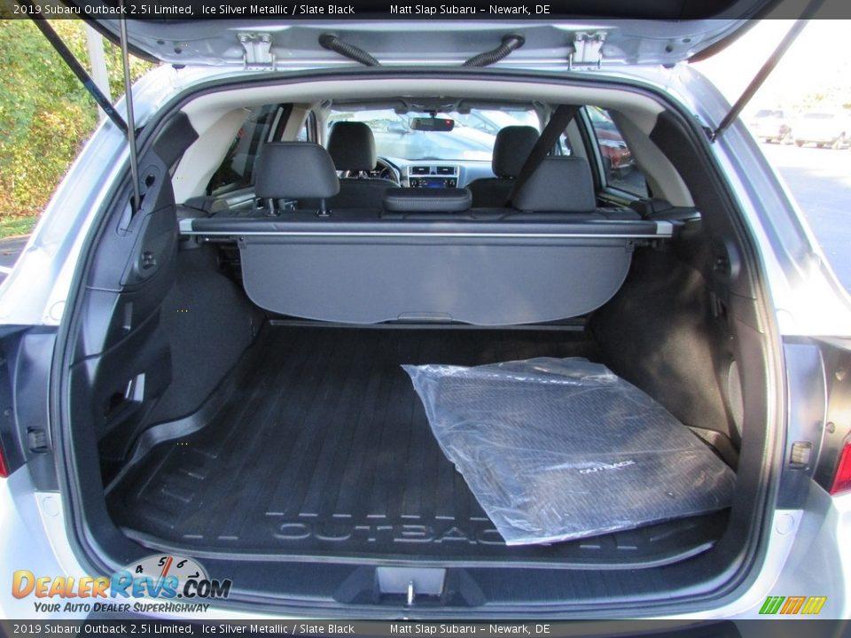 2019 Subaru Outback 2.5i Limited Ice Silver Metallic / Slate Black Photo #21