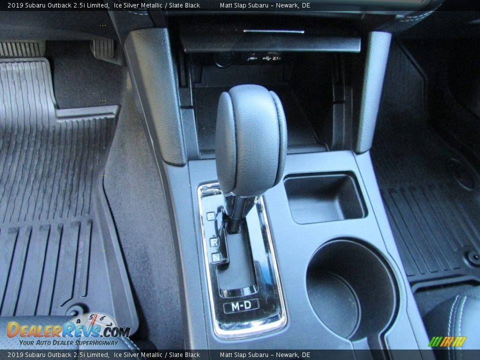 2019 Subaru Outback 2.5i Limited Ice Silver Metallic / Slate Black Photo #27