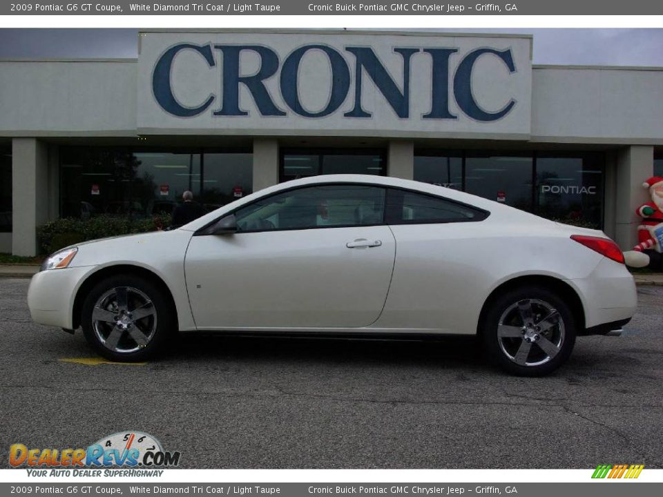 2009 Pontiac G6 GT Coupe White Diamond Tri Coat / Light Taupe Photo #1 ...