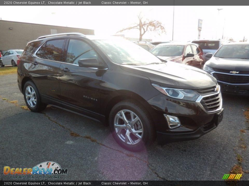 2020 Chevrolet Equinox LT Chocolate Metallic / Jet Black Photo #3