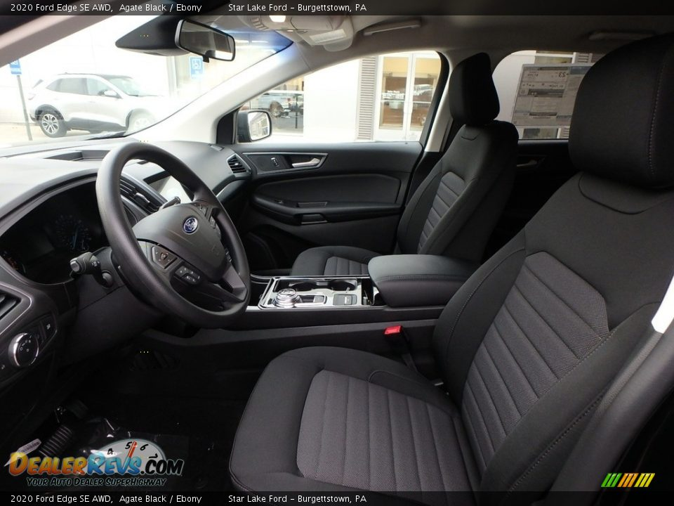 Front Seat of 2020 Ford Edge SE AWD Photo #12
