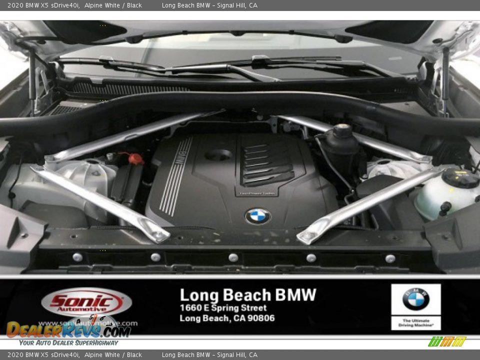2020 BMW X5 sDrive40i Alpine White / Black Photo #8