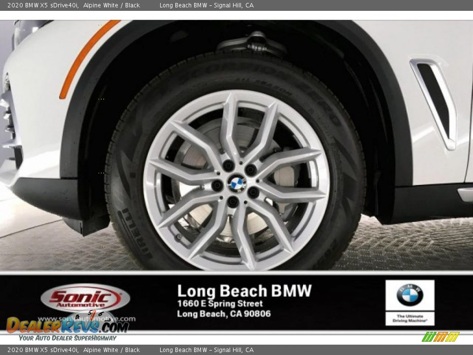 2020 BMW X5 sDrive40i Alpine White / Black Photo #9