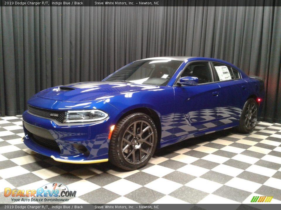 2019 Dodge Charger R/T Indigo Blue / Black Photo #2